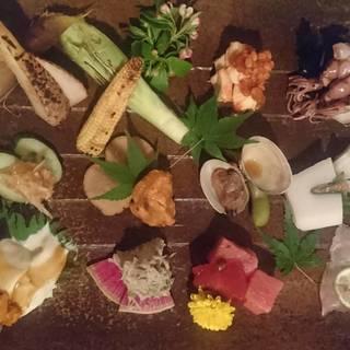 【和食テイストの創作料理】