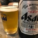 しまだ - 瓶ビール680円