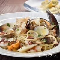 タントタント - 創業以来続く、本場イタリアの味『きのこと魚介のスパゲッティ』