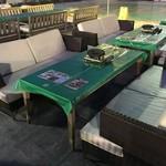 川口そごう屋上ビアガーデン サッポロビール 川口ビール園 - ゆったり座れる大きなソファー席も♪