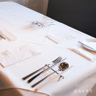和やかな雰囲気で大切な方をおもてなし。特別な日のお食事に
