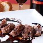 イタリアン食堂Bright.D - 濃厚な旨味の『鴨のしっとりローストバルサミコのソース』
