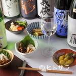初代 ちから - 料理人が料理に合わせ厳選した日本酒の数々