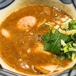 道玄坂 マンモス - 濃厚辛つけ麺 辛さ二倍つけ汁