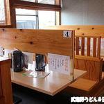 うどん 寿製麺 - 店内