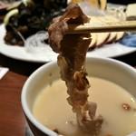 小肥羊 - 火鍋 白湯 肉リフト