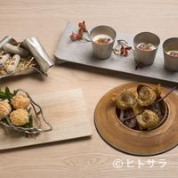 レヴォ - 挨拶代わりとして供される、4〜5皿からなる『プロローグ』