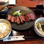 仙台炭焼き 牛たん欅 - 特選牛たん定食2570円