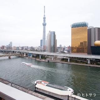 東京スカイツリーを一望できる抜群のロケーション