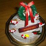 ピエールプレシュウズ - 2010クリスマスケーキ モンブランノエル