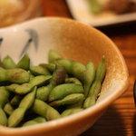 楽屋 - 枝豆