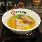 極煮干し本舗 - 淡麗煮干し塩ラーメン(760円)