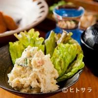 旬魚処 海蔵 - 旬な海老を使った『えびのポテトサラダ』