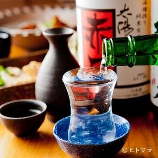 魚に合う日本酒を全国から厳選