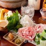 和酒酔処 わく - 丁寧に育てられた食材の美味しさを満喫できる『恋する豚と芳さん野菜しゃぶしゃぶ小鍋』 ※予約限定