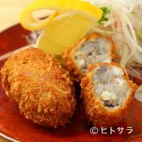 銀座魚勝 - 海老芋のシュリンプコロッケ(2ケ)