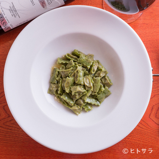 シェフお手製のパスタはイタリア伝統の味
