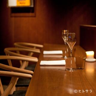 料理、サービス、雰囲気と、安心して大切な時間を委ねられます