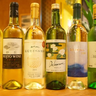 北海道から宮崎まで!約80種類の日本ワイン専門ビストロ!