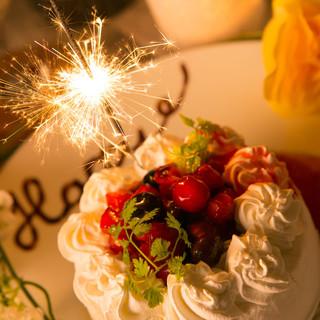 ★人気の誕生日特典⇒サプライズに♪ホールケーキ無料♪
