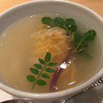ほうば - このこと蛤のスープ