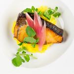 杏ダイニング - 料理写真:春ブリの麹焼き