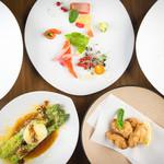 杏ダイニング - 料理写真:ディナーコース