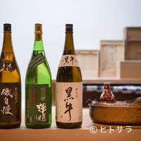 青華こばやし - 料理の邪魔をせず、飲み飽きしない4種の日本酒を厳選