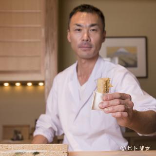 天ぷら屋という概念にとらわれない職人の仕事