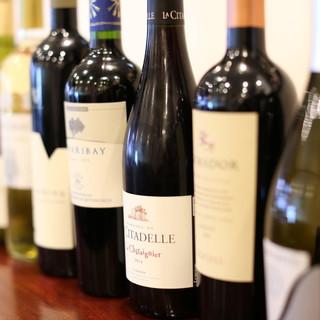 シェフ自ら厳選したワインとお料理の『マリアージュ』