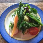 66162026 - 新鮮な地元野菜のサラダ