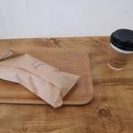 66163377 - ポテサラソーセージとコーヒー