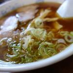 陽かろう - スープの塩梅は濃い目