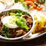 スパイス・ツリー - マトン挽肉とネパール山椒