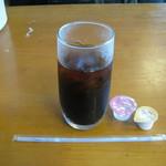 ガーラ - ランチの「アイスコーヒー」です。