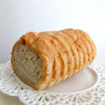 Pan De PuPu - 料理写真:ラウンド食パン メープル 1/2♡