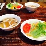 Coolie's Creek - スープ&サラダ付き!