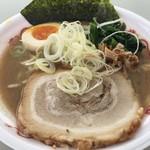 麺匠 文蔵 - 男の濃熟豚骨醤油税込750円(当日券は800円)