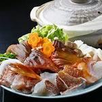 琴弾荘 - アコウ鍋