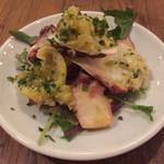 Itariambaruaoneko - タコと香味野菜のレモンマリネ529円