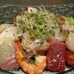 くうくう倶楽部 - シーフードサラダ