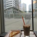 サンマルクカフェ - トーストサンドモーニングセット