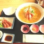 一休食堂 - 羽幌えびしおラーメン920円