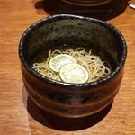 魚匠 銀平 - カボス蕎麦