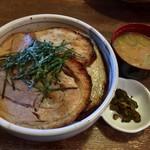 味噌屋 門左衛門 - 炙りチャーシュー丼