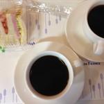 ヴィドフランス - セットのドリンク(コーヒー)