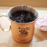 コメダ珈琲店 - 金のアイスコーヒー(520円)