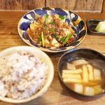 ネマルカフェ - 麻婆豆腐定食(950円)
