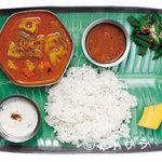 亜州食堂 チョウク - 野菜と豆で作るベジ仕様の定食が新鮮、ミールス