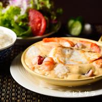 シチューとカレーの専門店 銀座 古川 - 濃厚な魚介エキスが詰まった『魚介類のクリームシチュー』